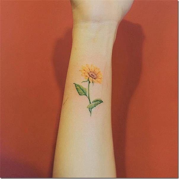 Girasol Tatuaje