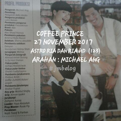 SINOPSIS COFFEE PRINCE