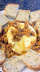 Honey Walnut Brie Recipe.