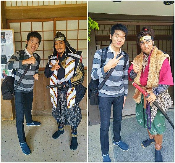 Photo Session bersama pemeran utama Ninja Show