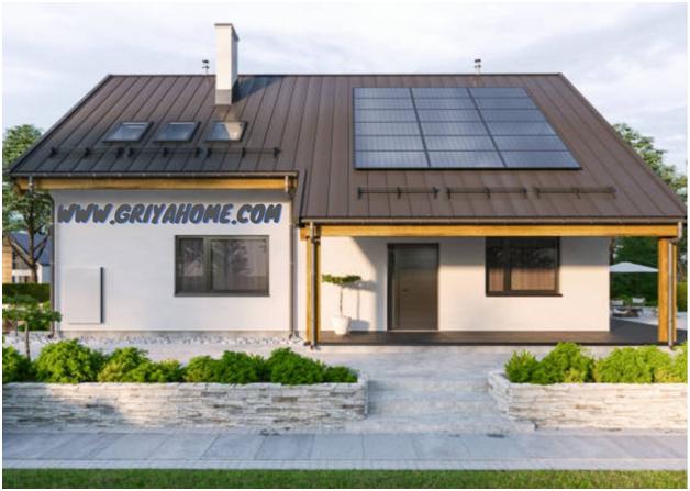 Desain  Rumah Hemat Energi dan Ramah Lingkungan