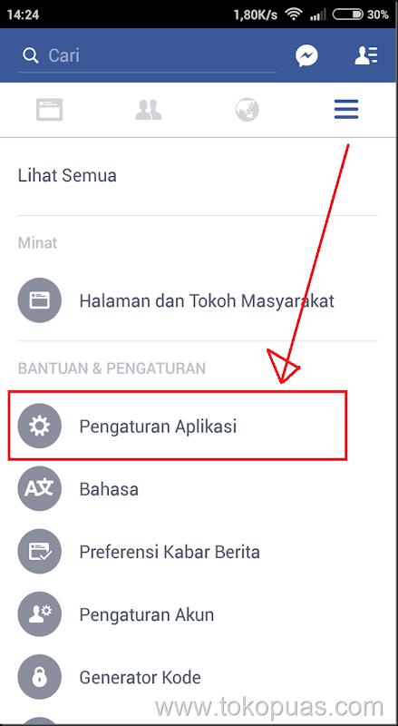 trik mematikan video facebook yang play sendiri