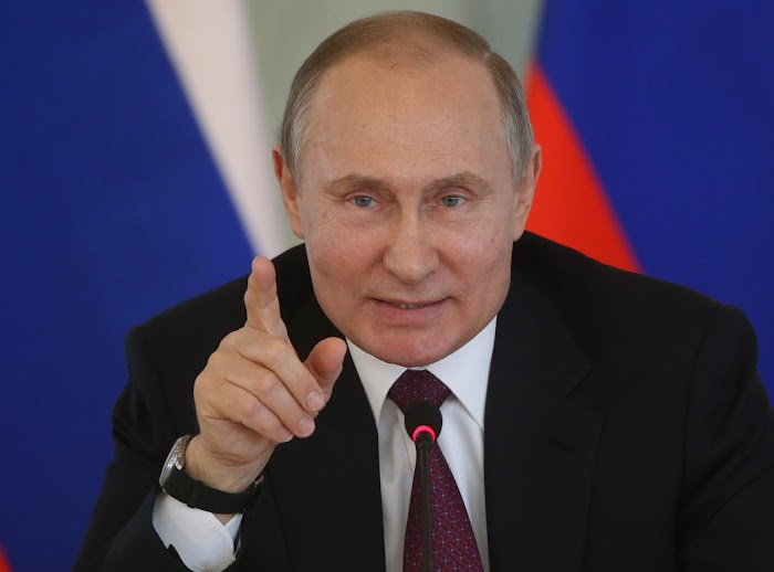 """""""We will work with anyone who has the trust of the American people"""" - Russian President, Putin Says"""