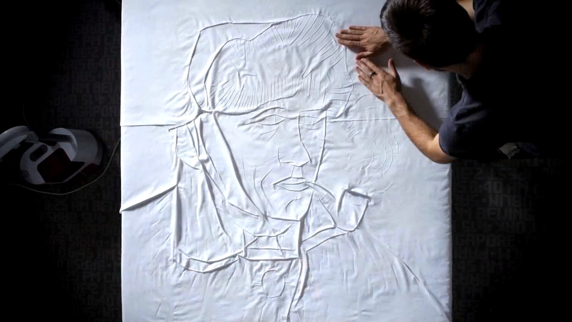 *The Art of Ironing:燙衣藝術畫 1