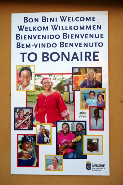 Bonaire Welcome