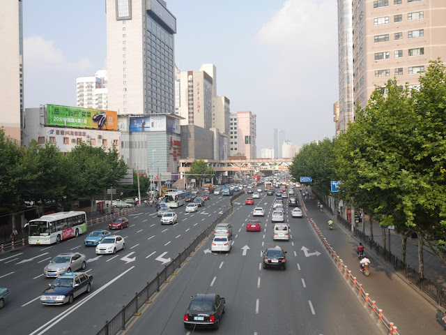 Tianmu West Road looking east