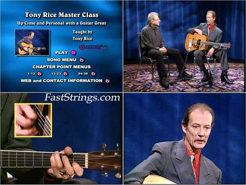 Tony Rice - Master class: Up Close and Personal with a Guitar Great