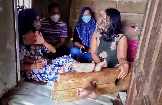 Cerita Maria Ulpah, Perempuan Tiga Anak yang dalam Pasungan