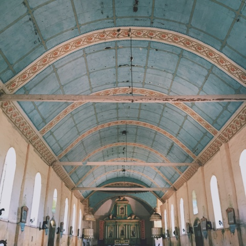 Lazi, Church, Siquijor, Architecture