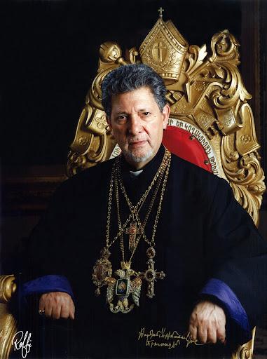 Armenian Patriarch Torkom Archbishop Manoogian