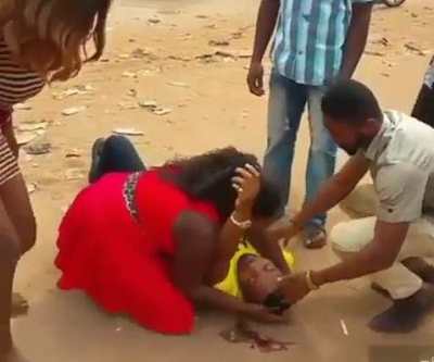 Lagos Guy Pretends To Be Dead In An Accident, Only To Rise & Propose To His Babe