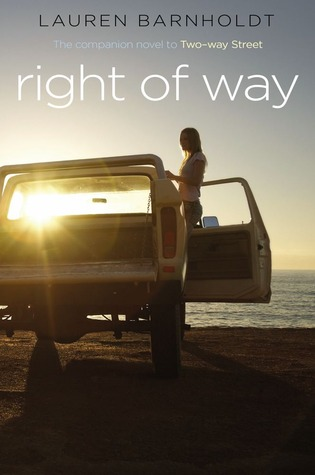 Review: RIGHT OF WAY by Lauren Barnholdt