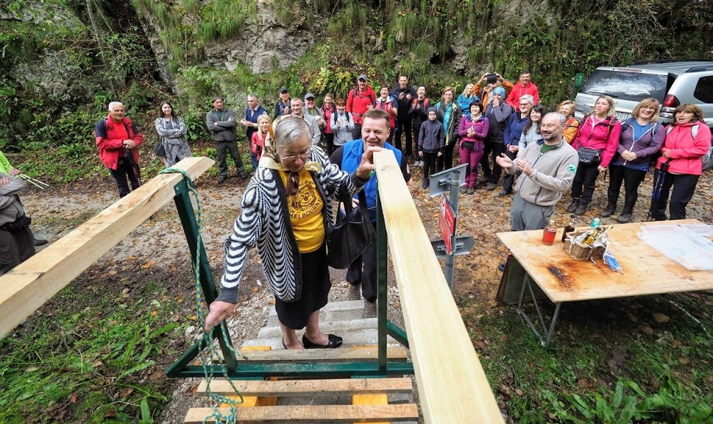 Otvorenje Matinog mosta u Slapnici