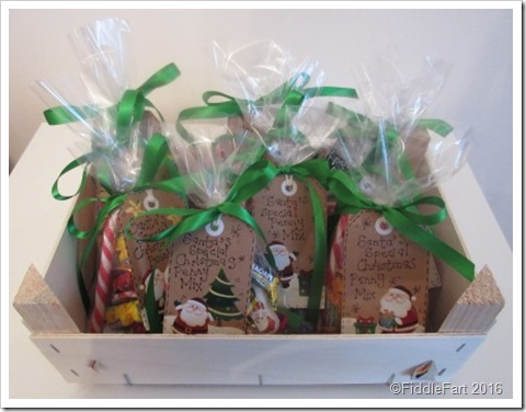 Santa's Sweet Treat Favour Bags