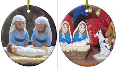 Christians denounce gay tree ornaments depicting nativity scene