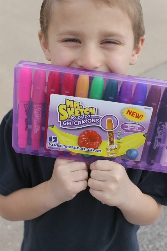 Mr, Sketch Scented Gel Crayons