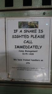 Newman Snake Sign