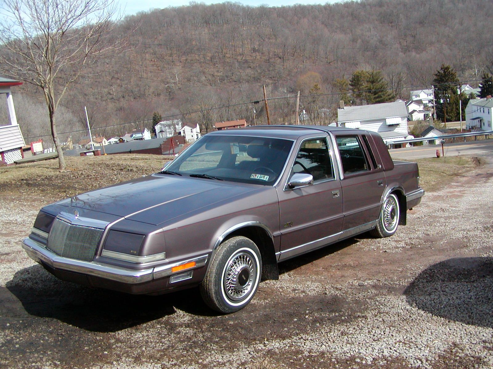 1991 chrysler imperial sedan