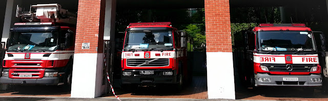 ServicefromHeart travelxp Singapore Central Fire Station engines