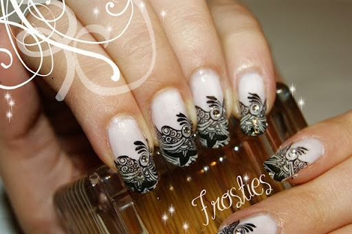 Base white + stamping black