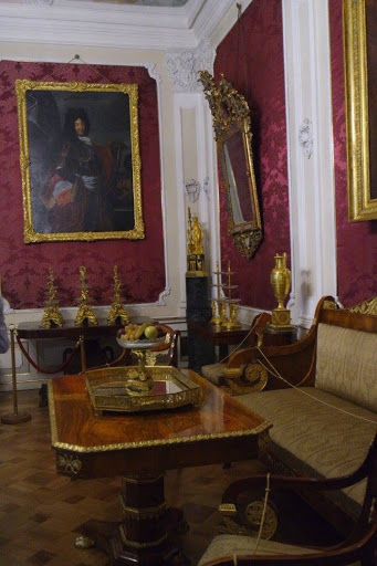 Tearoom at Wilanow Palace Museum in Warsaw Poland