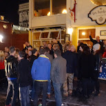 another lineup at the next bar - Den Danske Kro in Reykjavik, Hofuoborgarsvaeoi, Iceland