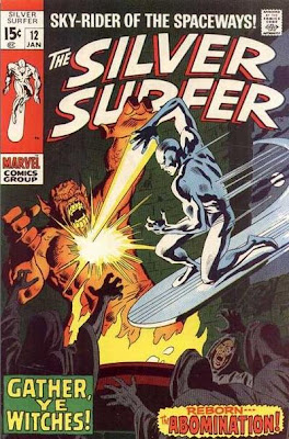 Silver Surfer #12, the Abomination