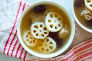 Lotus Root Soup with Pork Ribs Recipe