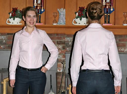 StyleArc Melissa shirt (Egyptian cotton poplin)