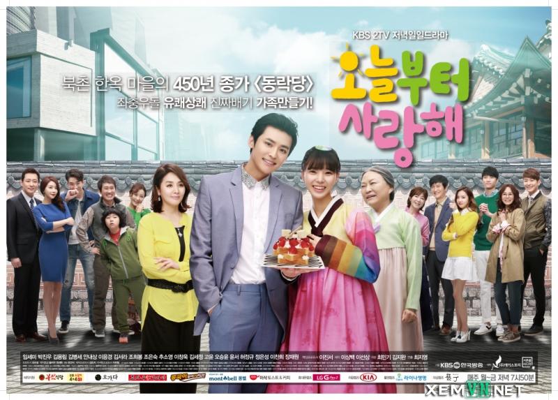 Phim Chung Một Mái Nhà - Love On A Rooftop
