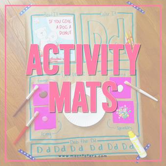 Activity Mats Landing Page