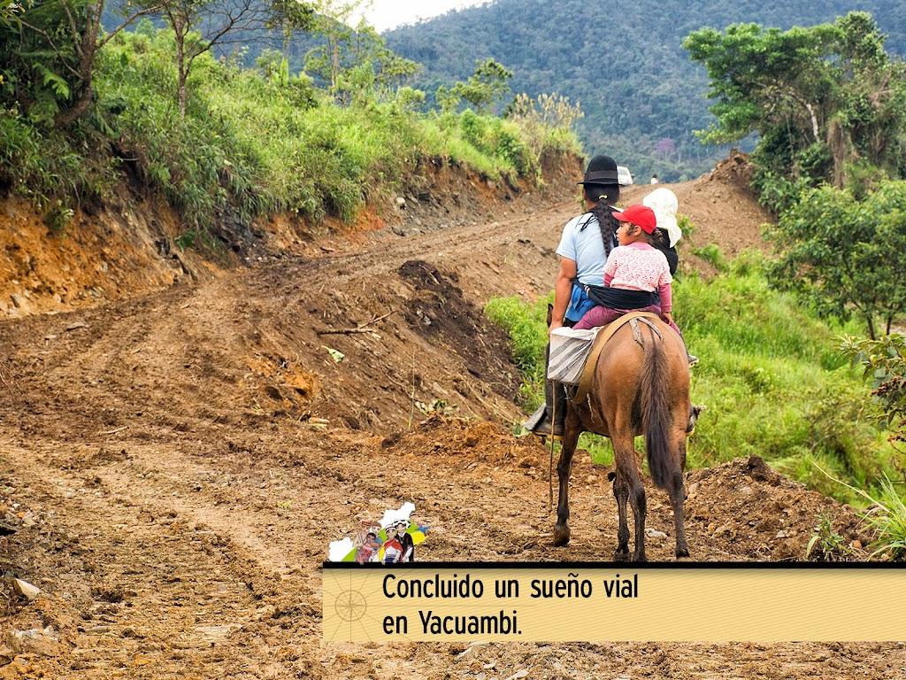 CONCLUIDO UN SUEÑO VIAL EN YACUAMBI