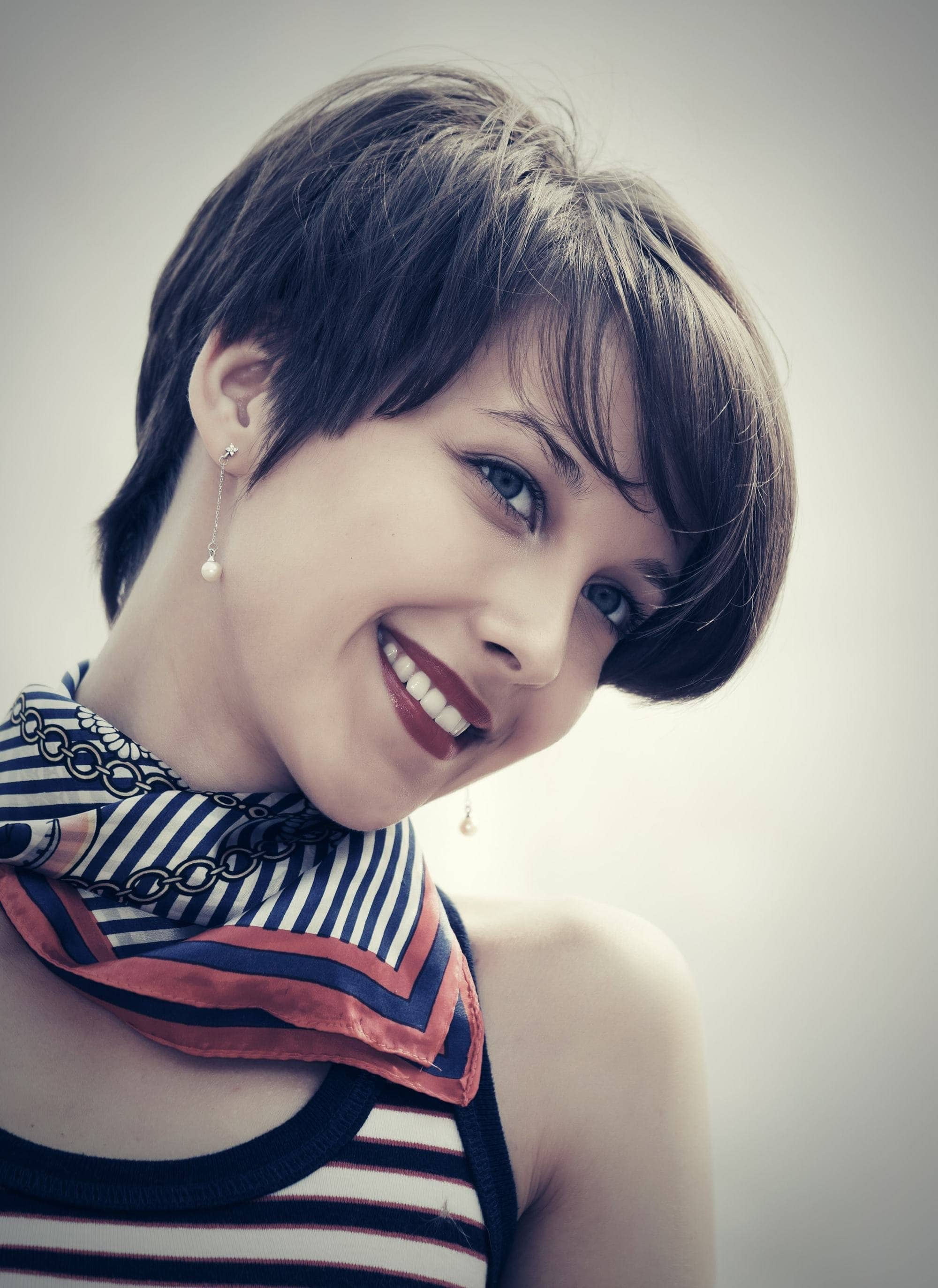 New Short Asian Hairstyles:Pixies,Bobs and Lobs 1