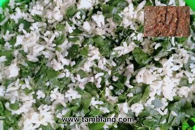 Nasi Kelor Kuliner Unik  di Tamblang