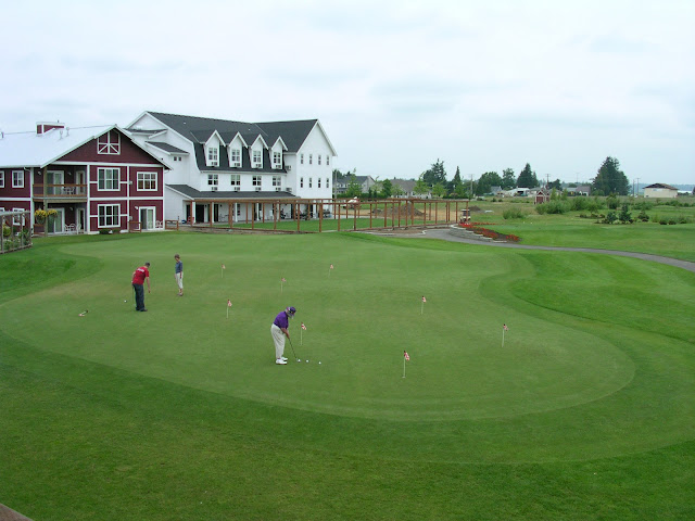 Located just on the outskirts of Lynden, Homestead Farms Golf Resort winds its way across what was once fertile dairy land and is now one of the real surprises of Northwest Washington golf. / Credit: Sarah Brooks