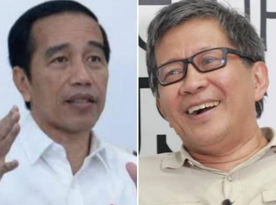 Profesor Singapura Nilai Jokowi Jenius Dibanding Biden, Rocky Gerung: Jenius Karena Menghalangi Orang Kritik
