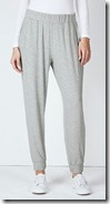 The White Company deep waistband pull on trousers