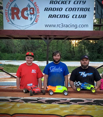 Stadium Truck - 1st: Spencer Glasgow, 2nd: Tyler Schrimsher, 3rd: Freddy Marsh