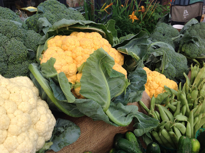 Veggies at the Manotick Farmers Market
