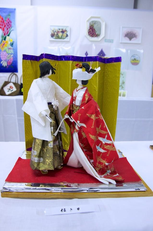 和紙人形・川本富美子さん