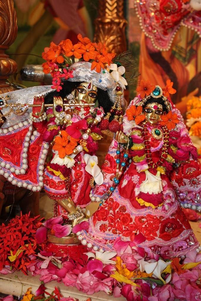 ISKCON Vallabh Vidhyanagar Sringar Deity Darshan 05 Mar 2016 (4)