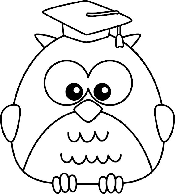 Free Printable Preschool Coloring Pages  Best Coloring Pages For Kids Owl  Cute