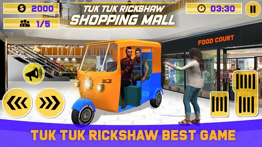 Tuk Tuk Rickshaw Shopping Mall Driver 1.0 screenshots 1