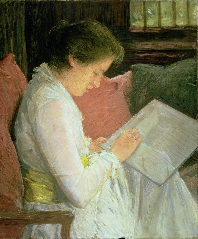 Julian Alden Weir - The Lace Maker