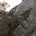 Rungs on the Precipice Trail