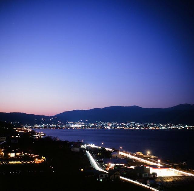 ローライコード トリオター 諏訪湖夜景