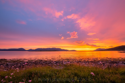 Magic Light and Clouds in Northern Norway. Photographer Benny Høynes
