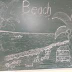 Making a Beach Mural (Jr. KG) 12.01.2016