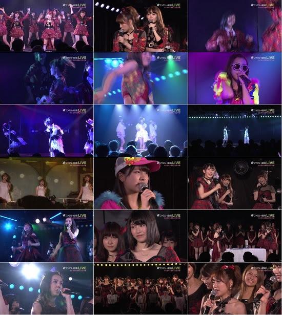 (1080i+720p) AKB48劇場10周年特別記念公演 151208
