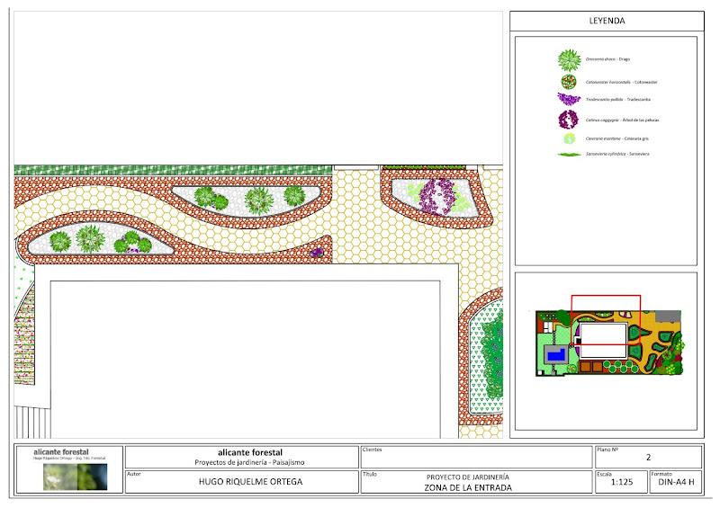 ejecución jardín diseño proyecto jardinería paisajismo san vicente alicante